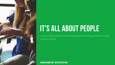 Photo of It's All About People: Lessons learned from hiring, growing and leading a team